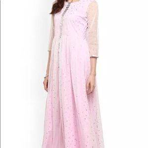 Tops - Indian Salwar Kurta Light Pink Party wear!